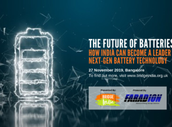 Faradion sodium ion batteries Bangalore