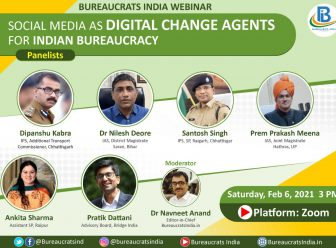 Indian bureaucracy using social media for social good