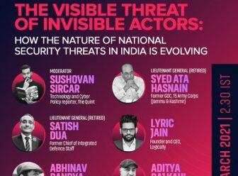 Security threats in India webinar