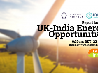 UK India Energy Collabrations report launch