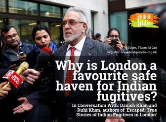 Indian fugitives in London event with Danish Khan, Ruhi Khan