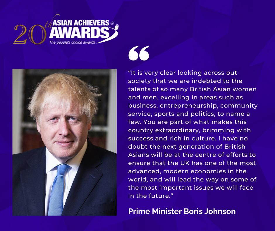 PM Boris Johnson qoute for AAA