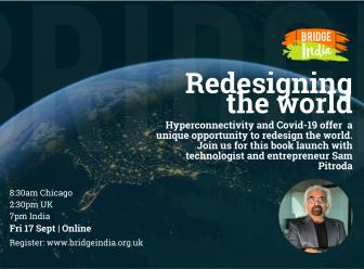 Sam Pitroda book launch Redesigning the World